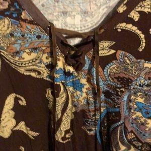 Venus blouse knit top